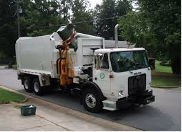 town of cary garbage truck